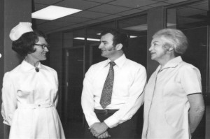 Hilda Kirk, Matron, appointed March 1973 Graham Bound, Administrator, appointed November 1972 Jean Myerson, Housekeeper, appointed July 1973