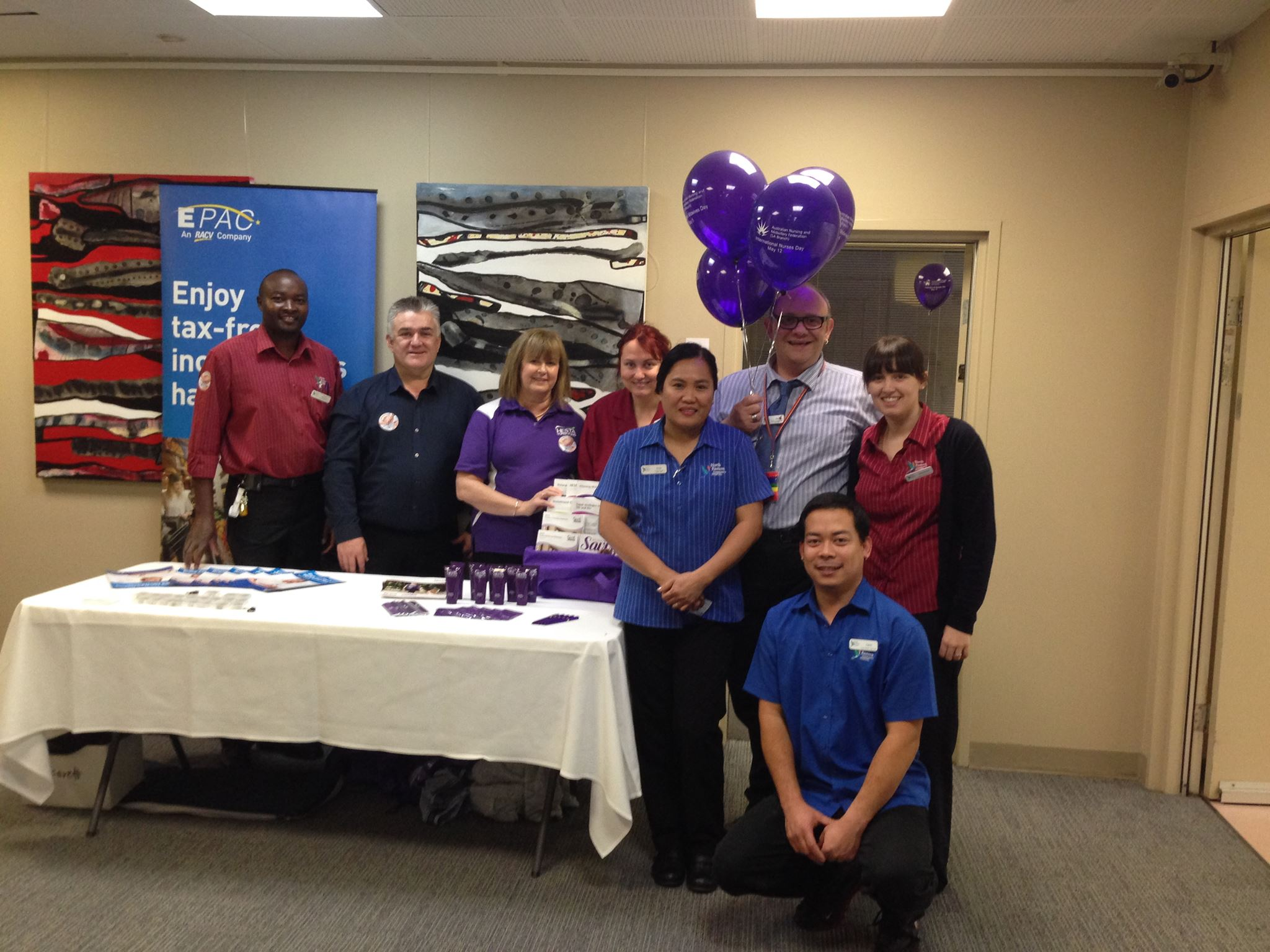 International Nurses Day at North Eastern Community Hospital